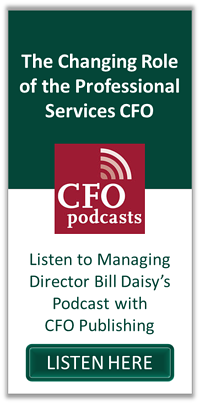The Changing Role of the Professional Services CFO3